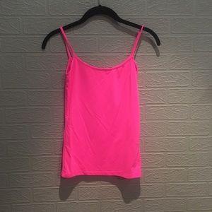 Bright pink Zara tank